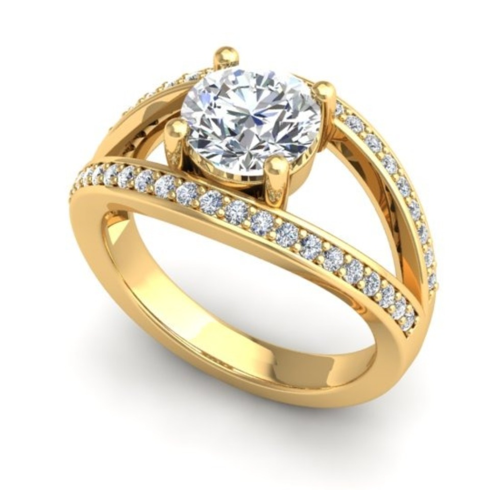 1.66ct 18kt Yellow Gold 116412